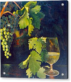 The Fruit Of The Vine Acrylic Print by Jeanene Stein