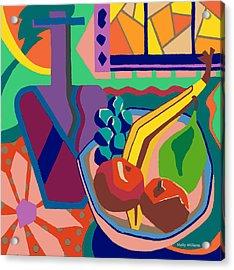 The Fruit Table Acrylic Print