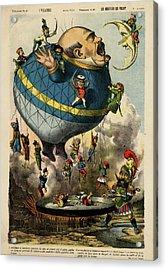 The Frying Pan Of War Acrylic Print