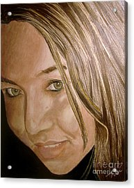 The Gal Most Likely Acrylic Print by Tobi Czumak
