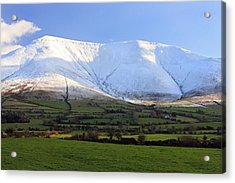 The Galtees  Ireland's Tallest Inland Mountains Acrylic Print by Pierre Leclerc Photography