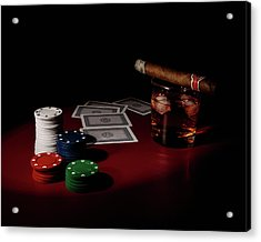 The Gambler Acrylic Print