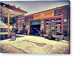 The Garage Acrylic Print