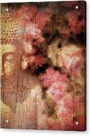 The Garden Buddha 1 Acrylic Print
