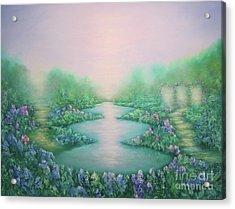 The Garden Of Peace Acrylic Print