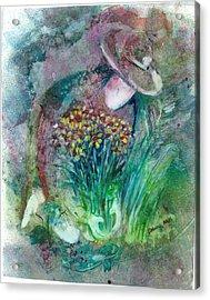 The Gardener Acrylic Print
