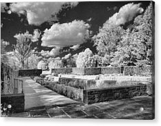 The Gardens In Ir Acrylic Print by Michael McGowan