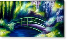 The Gardens Of Givernia Acrylic Print