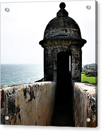 The Garitas Of The Fort  Acrylic Print