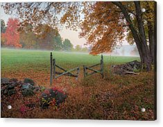 The Gate Acrylic Print by Bill Wakeley