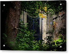 Acrylic Print featuring the photograph The Gate by Jeremy Lavender Photography
