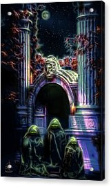The Gate Keepers Acrylic Print