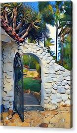 The Gate To Paradise Acrylic Print by Karyn Robinson