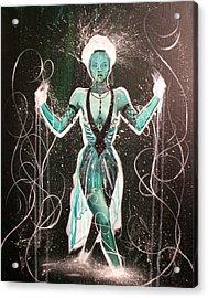 The Gatekeeper Acrylic Print by Ericka Bales