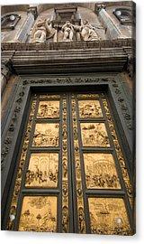 The Gates Of Paradise Doors Acrylic Print by Joel Sartore
