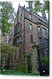 The Gates Of Yale Acrylic Print