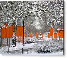 The Gates On Cherry Hill Acrylic Print