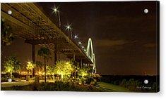 The Gateway Charleston Harbor Arthur Ravenel Jr Bridge Acrylic Print