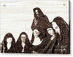 The Gathering For Prayer Acrylic Print