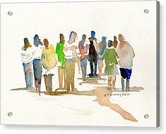 The Gathering Acrylic Print