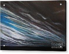 The Gathering Storm Acrylic Print by Paul Horton