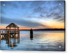 The Gazebo  Acrylic Print by JC Findley
