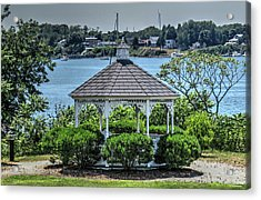 Acrylic Print featuring the photograph The Gazebo by Tom Prendergast