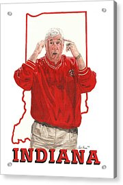 The General Bob Knight Acrylic Print