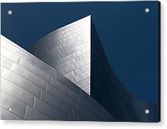 Acrylic Print featuring the photograph The Geometry Of Disney Hall by Lorraine Devon Wilke