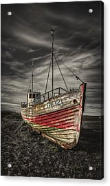 The Ghost Ship Acrylic Print by Evelina Kremsdorf