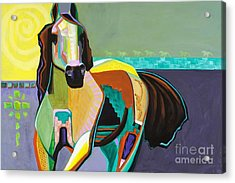 Acrylic Print featuring the painting The Gift by Frances Marino