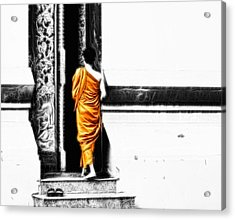 The Gilded Monk Acrylic Print