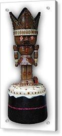 The Gingerbread King Acrylic Print by Paul Illian