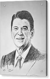 The Gipper Acrylic Print by Stan Hamilton