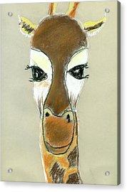 The Giraffe Acrylic Print