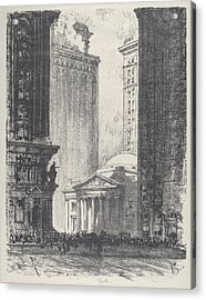 The Girard Trust Company Acrylic Print