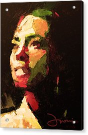 The Girl From Brazil Acrylic Print