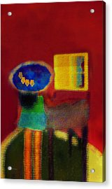 The Girl In The Mirror 2 Acrylic Print