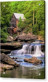 The Glade Creek Mill Acrylic Print