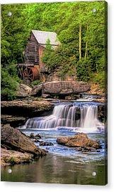 The Glade Creek Mill Acrylic Print