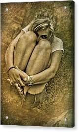 The Glance Acrylic Print by Loriental Photography