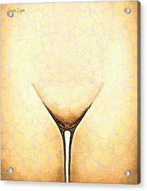 The Glass - Da Acrylic Print