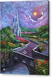 The Glass Slippers Acrylic Print by Randy Burns