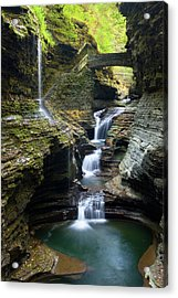 Acrylic Print featuring the photograph The Glen by Timothy McIntyre