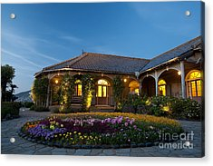 Acrylic Print featuring the photograph The Glover Residence by Aiolos Greek Collections