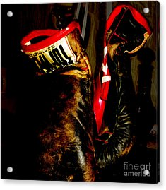 The Gloves Acrylic Print by Steven Digman