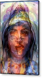 The Goddesses Within You Acrylic Print by Carmen Cordova