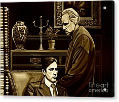 The Godfather Acrylic Print by Meijering Manupix
