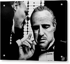 The Godfather Acrylic Print by Rick Fortson