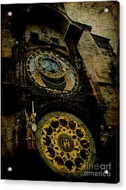 The Gods Of Time Acrylic Print by Lee Dos Santos